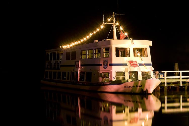 Tag 34 Schiff bei Nacht