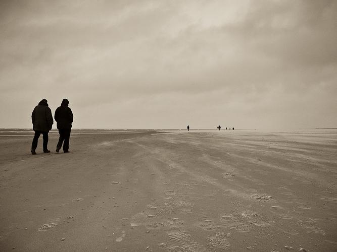 Tag 91 Nordsee im Sturm