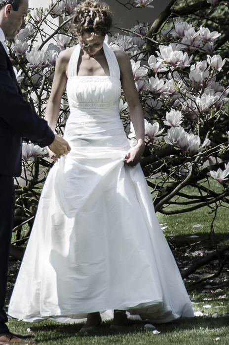 Tag 259 Brautpaar im Schlosspark
